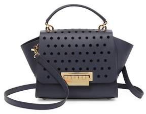 Zac Posen Eartha Top Handle Leather Crossbody Bag