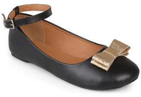 Journee Collection Black Afton Ballet Flat