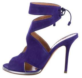 Alexa Wagner Suede Ankle Strap Sandals