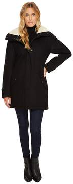 Andrew Marc Rachelle 34 Pressed Wool Coat Women's Coat