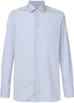 Ermenegildo Zegna micro-pattern shirt