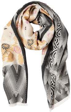 Etro Floral Jacquard Scarf