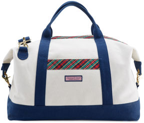 Vineyard Vines Heritage Plaid Weekender Bag