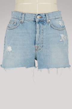 7 For All Mankind High-waisted shorts