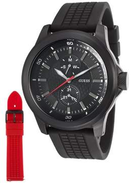 GUESS W12656G1 Rev Rubber Chronograph Mens Watch