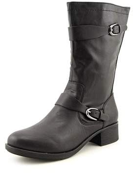 Style&Co. Style & Co Clemint Women Round Toe Synthetic Black Mid Calf Boot.