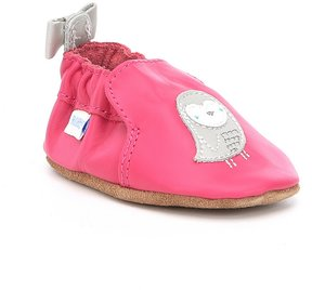 Robeez Baby Girls Newborn-24 Months Bird Bow Shoes