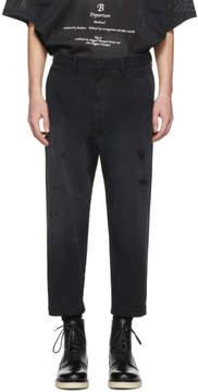 Diesel Black P-Webbin Trousers