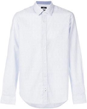 HUGO BOSS micro print shirt