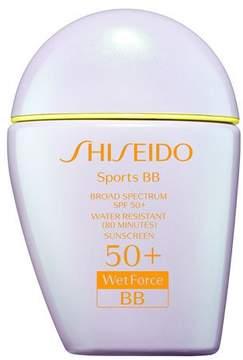 Shiseido Sports BB Broad Spectrum SPF 50+ WetForce, Dark, 30 mL