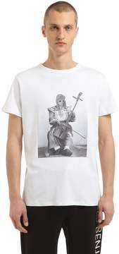 Les Benjamins Kurt Cobain Printed Cotton T-Shirt
