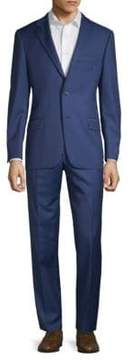 Hickey Freeman Regular-Fit Wool Suit