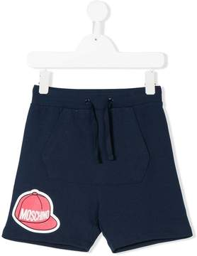Moschino Kids pouch pocket detail shorts