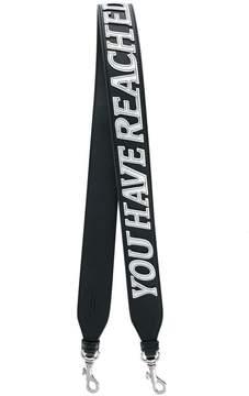 Stella McCartney appliquéd bag strap