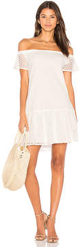 Central Park West Bristol Off Shoulder Dress