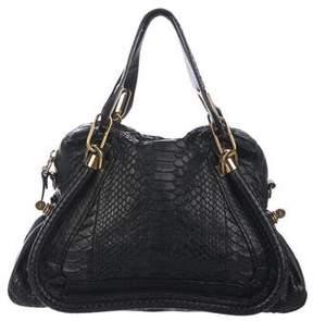 Chloé Small Python Paraty Bag