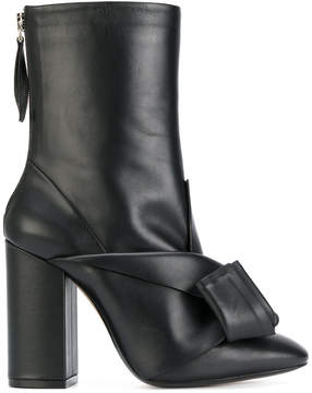 No.21 knot detail boots