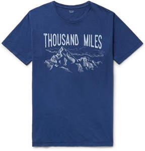 Hartford Printed Cotton-Jersey T-Shirt