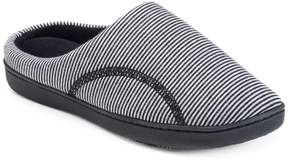 Isotoner Women's Athena Striped Hoodback Slippers
