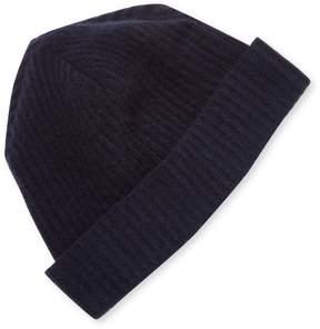 Portolano Men's Cashmere Ribbed Hat