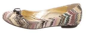 Missoni Patterned Knit Flats