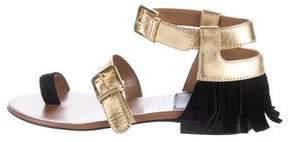 Laurence Dacade Fifi Metallic Sandals