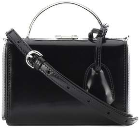 Mark Cross Grace Mini Box leather shoulder bag