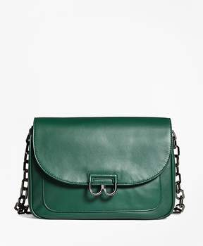 Brooks Brothers Nappa Leather Babe Shoulder Bag