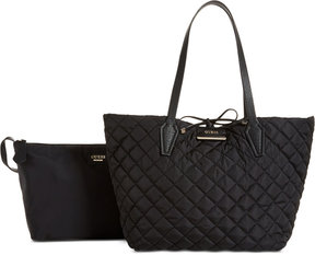 GUESS Bobbi Inside-Out Reversible Nylon Extra-Large Tote