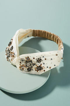 Anthropologie Augusta Embellished Headband