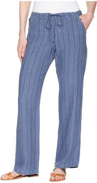 Allen Allen Stripe Long Pants Women's Casual Pants