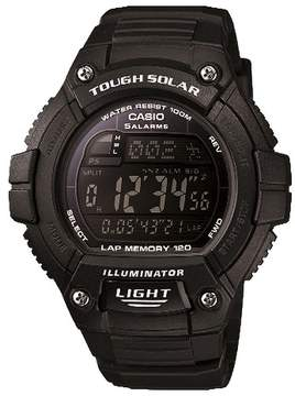 Casio Solar Multiple Function 120-Lap Runner Watch - Black (WS220-1BVCF)