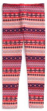 Tea Collection Toddler Girl's Fair Isle Leggings