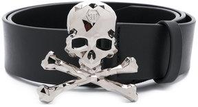 Philipp Plein skull motif belt