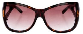 Marc Jacobs Tortoiseshell Shield Sunglasses