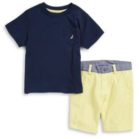 Nautica ??oys Two-Piece Tee and Shorts Set
