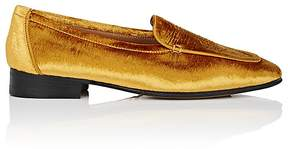 The Row Women's Adam Velvet Loafers