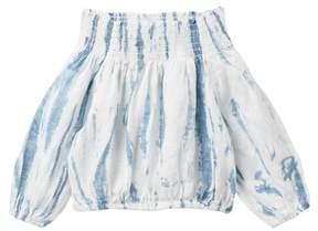 Joe's Jeans Tie Dye Woven Smocked Top (Little Girls)