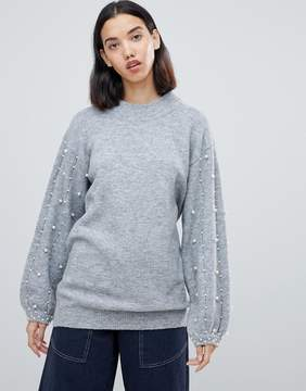 jumper with embellished detail