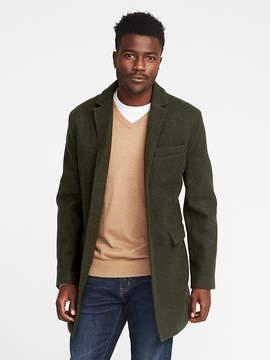 Old Navy Wool-Blend Topcoat for Men