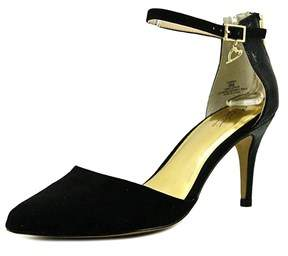 Thalia Sodi Womens Vanesssa Pointed Toe Ankle Strap D-orsay Pumps.