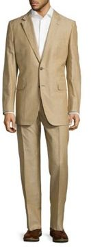 Façonnable Textured Notch-Lapel Suit