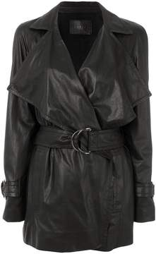 Drome belted trench coat