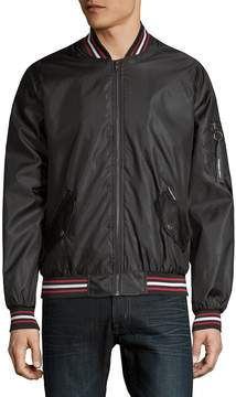Members Only Men's Twill Bomber Jacket