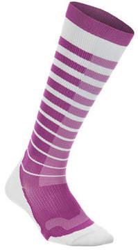 2XU Women's Performance Stripe Run Compression Socks