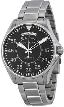 Hamilton Pilot Day Date Automatic Black Dial Men's Watch