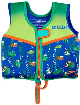 Speedo Boys' Learn To Swim Printed Neoprene Swim Vest (2yrs6yrs) - 8126407