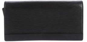 Louis Vuitton Epi Honfleur Clutch - BLACK - STYLE