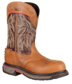 Rocky Men's 11 Iron Skull Ct Wp Western Boot Rkw0203.