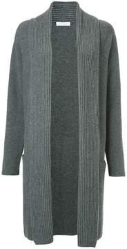 Cruciani ribbed knit cardi-coat